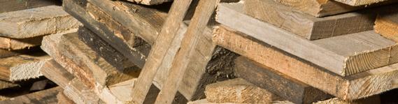 off cuts of wood